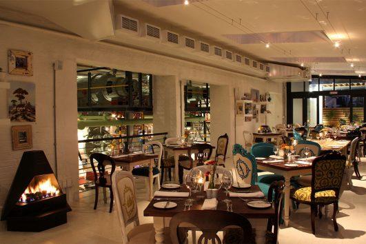 Turbine Hotel dining
