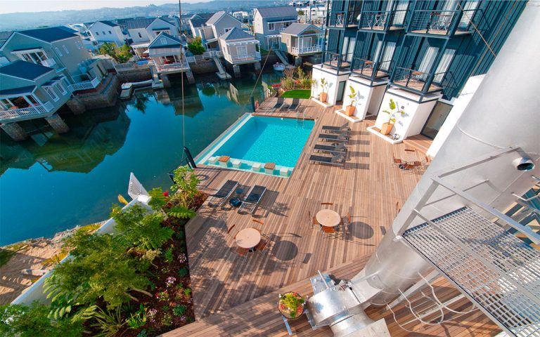Turbine Hotel pool