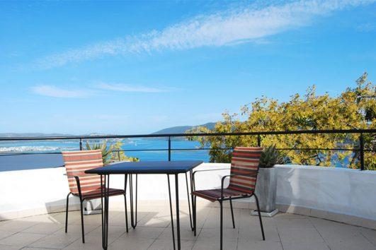 Villa Afrikana view