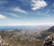 cape town table mountain spectacular view