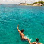 Seychelles swim