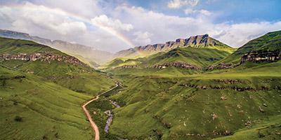 Kwazulu Natal Drakensberg Sani Pass